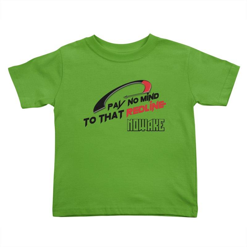 "NOWAKE ""Redline"" Design Kids Toddler T-Shirt by NOWAKE's Artist Shop"