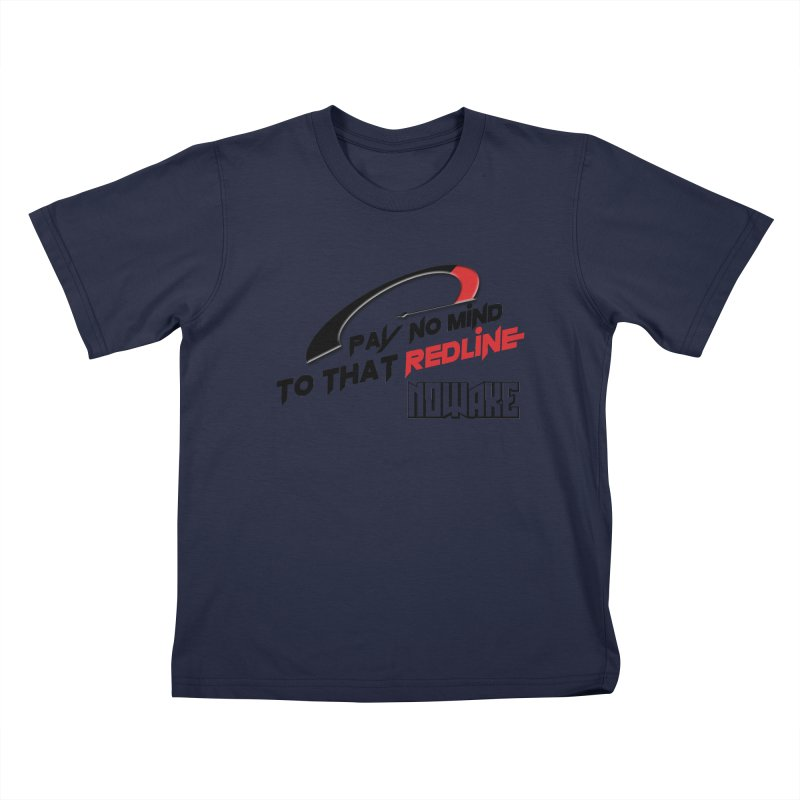 "NOWAKE ""Redline"" Design Kids T-Shirt by NOWAKE's Artist Shop"