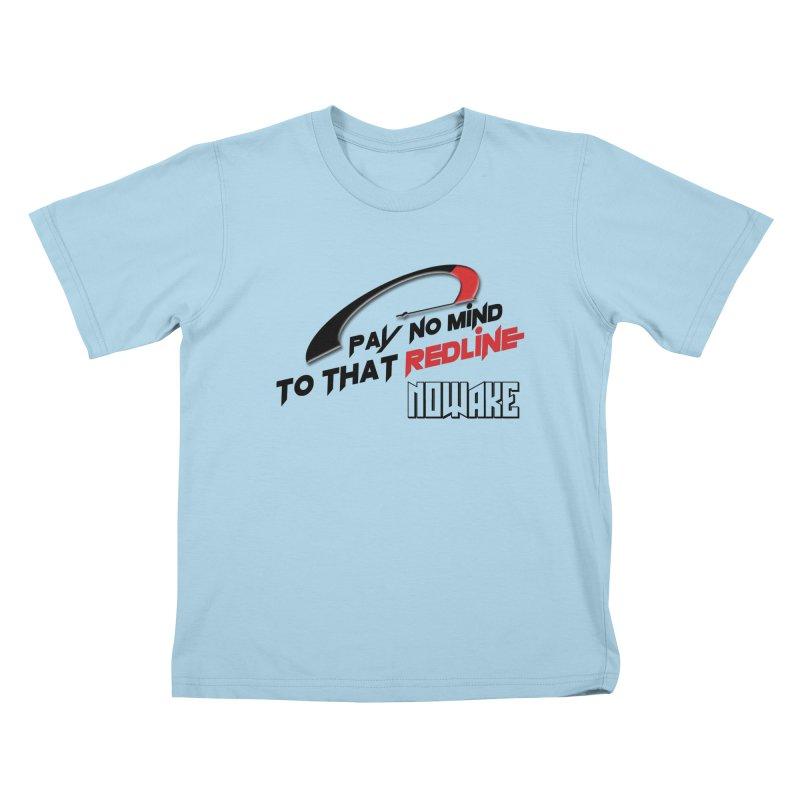 "NOWAKE ""Redline"" Design Kids T-Shirt by NOWAKE's Artist Shop"