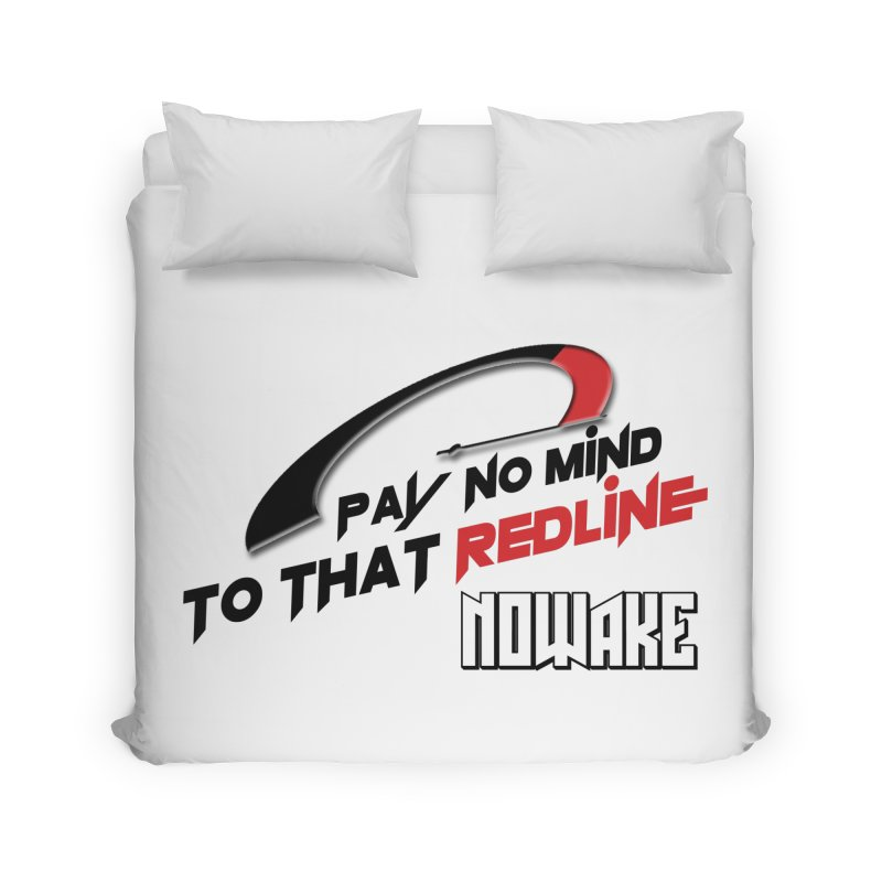 "NOWAKE ""Redline"" Design Home Duvet by NOWAKE's Artist Shop"