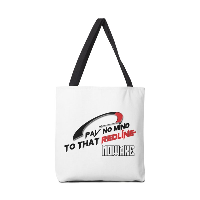 "NOWAKE ""Redline"" Design Accessories Tote Bag Bag by NOWAKE's Artist Shop"