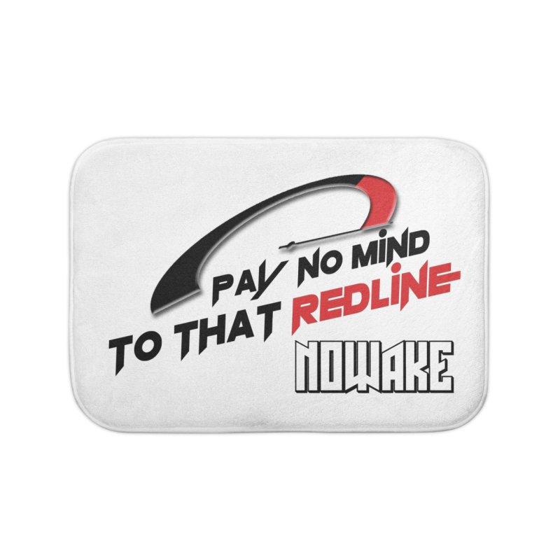"NOWAKE ""Redline"" Design Home Bath Mat by NOWAKE's Artist Shop"