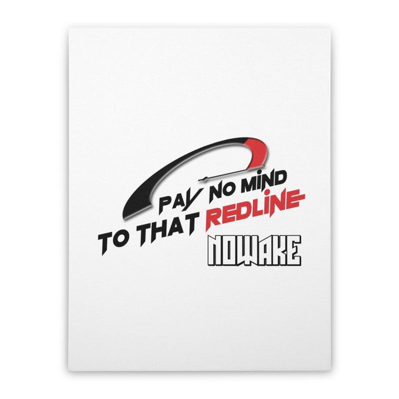 "NOWAKE ""Redline"" Design Home Stretched Canvas by NOWAKE's Artist Shop"