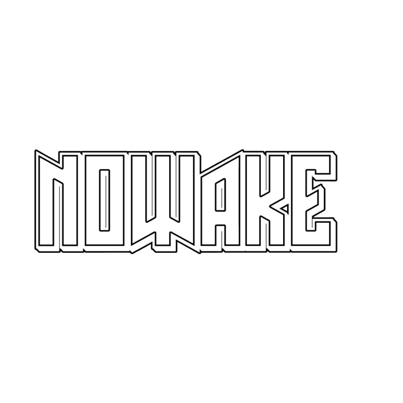 NOWAKE Outline Logo by NOWAKE's Artist Shop