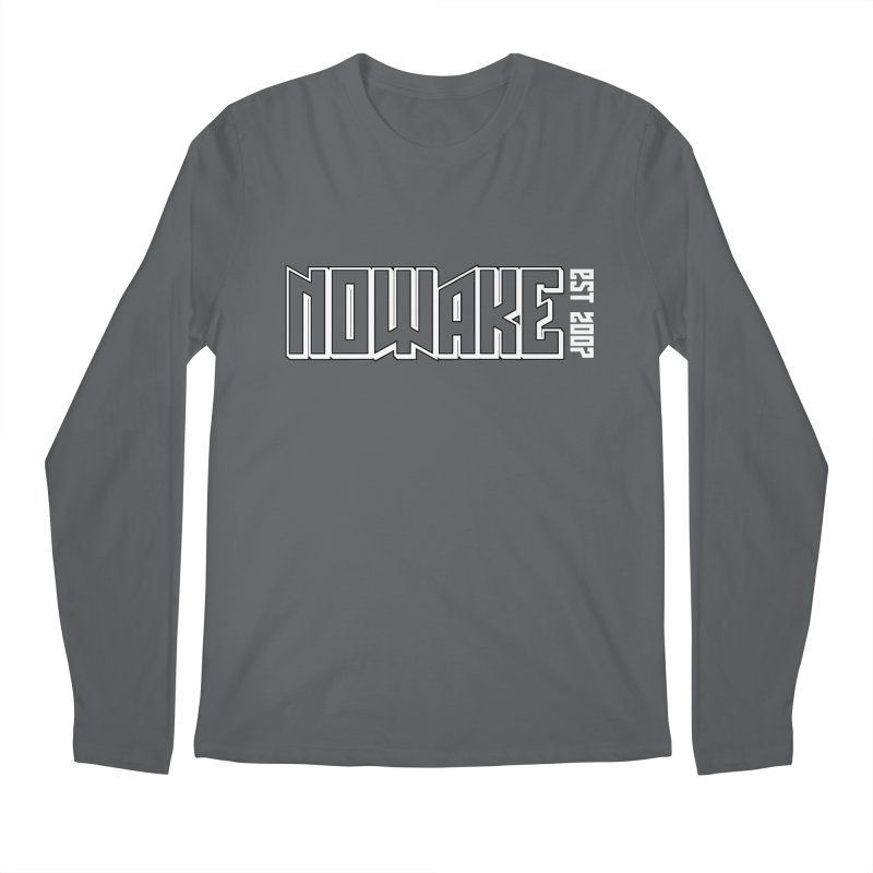 NOWAKE Outline Logo Men's Longsleeve T-Shirt by NOWAKE's Artist Shop