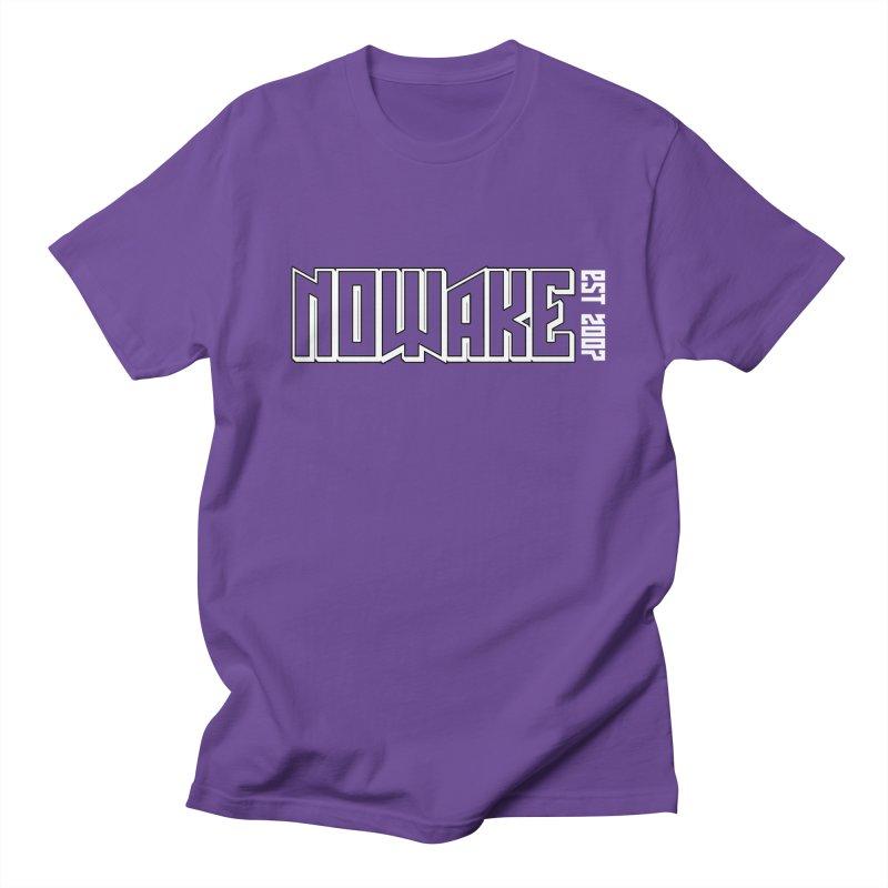 NOWAKE Outline Logo Women's Regular Unisex T-Shirt by NOWAKE's Artist Shop