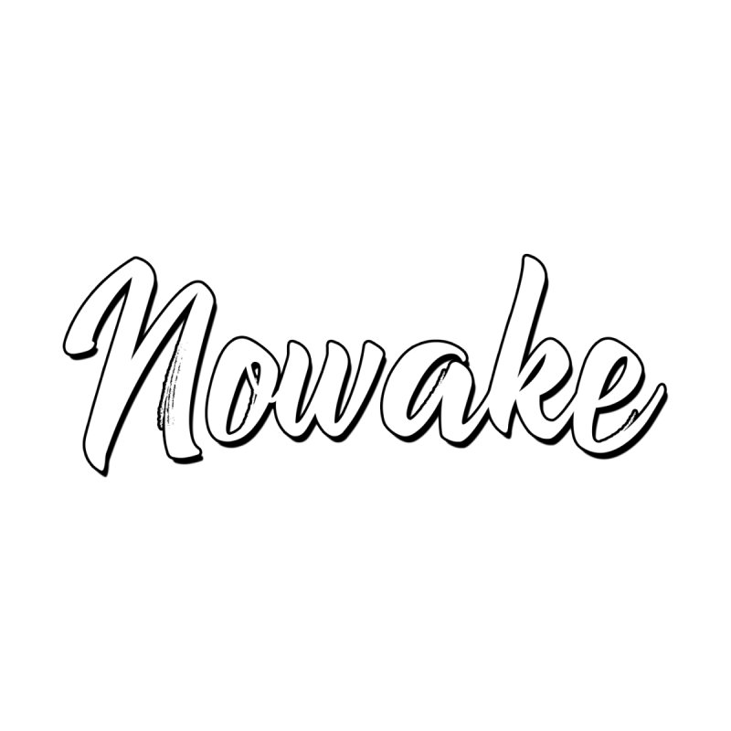 NOWAKE Sketch Design Accessories Bag by NOWAKE's Artist Shop