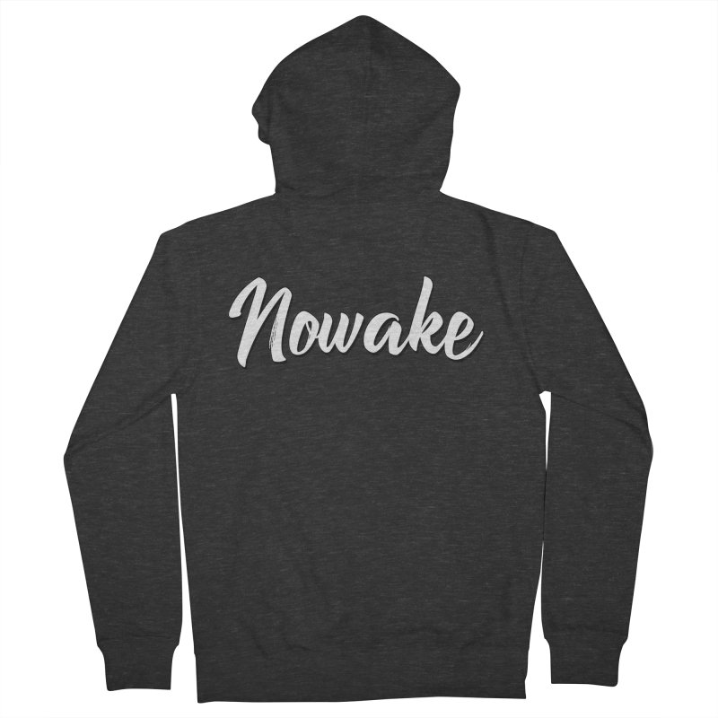 NOWAKE Sketch Design Women's French Terry Zip-Up Hoody by NOWAKE's Artist Shop