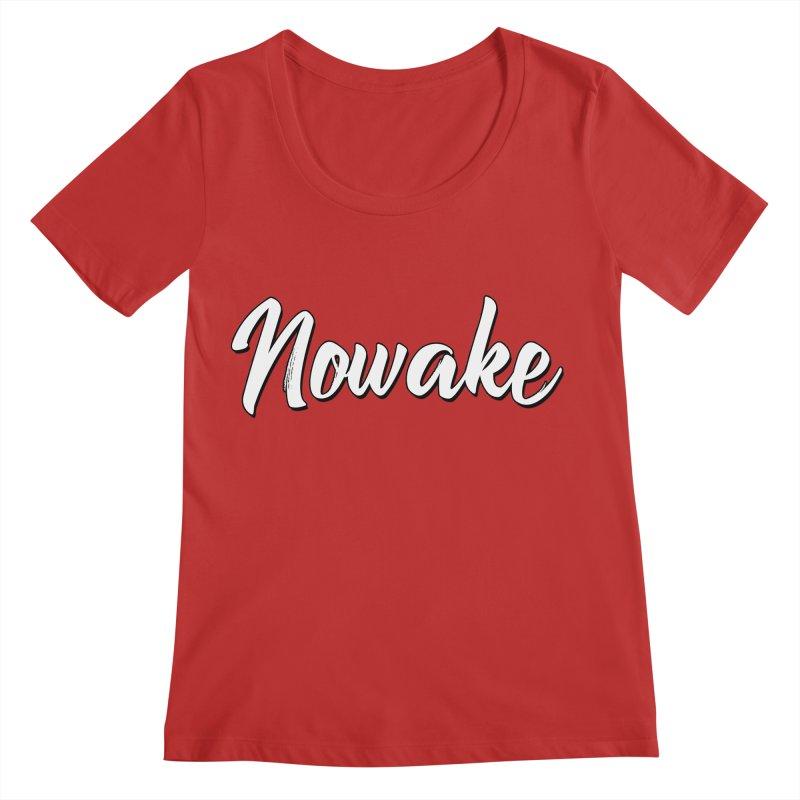 NOWAKE Sketch Design Women's Regular Scoop Neck by NOWAKE's Artist Shop