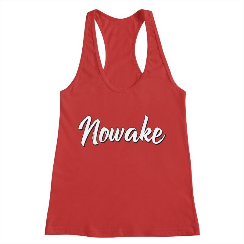 NOWAKE Sketch Design Women's Racerback Tank by NOWAKE's Artist Shop