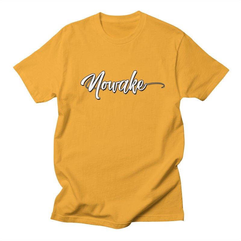 NOWAKE Handdrawn Design Women's Regular Unisex T-Shirt by NOWAKE's Artist Shop