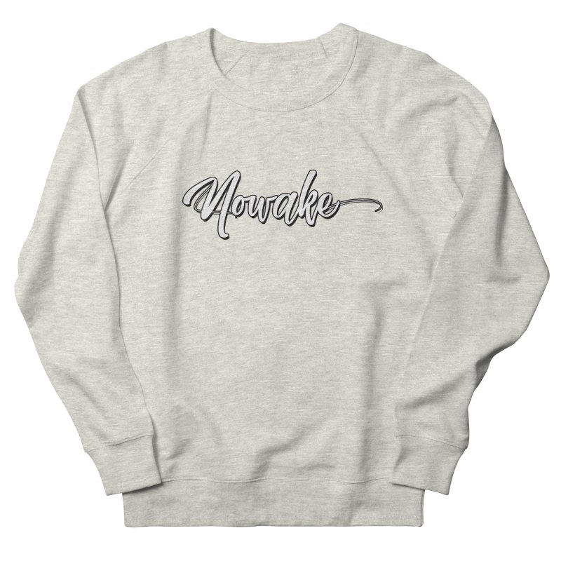 NOWAKE Handdrawn Design Women's French Terry Sweatshirt by NOWAKE's Artist Shop