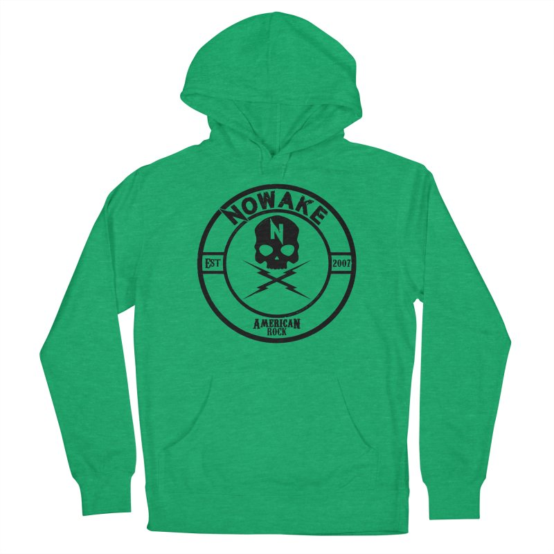 NOWAKE American Rock (in black) Men's French Terry Pullover Hoody by NOWAKE's Artist Shop