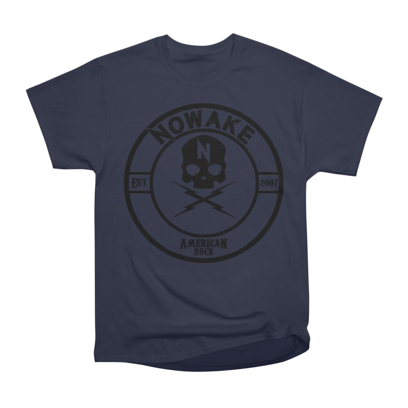 NOWAKE American Rock (in black) Women's Heavyweight Unisex T-Shirt by NOWAKE's Artist Shop
