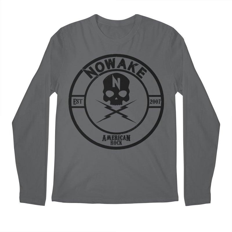 NOWAKE American Rock (in black) Men's Longsleeve T-Shirt by NOWAKE's Artist Shop