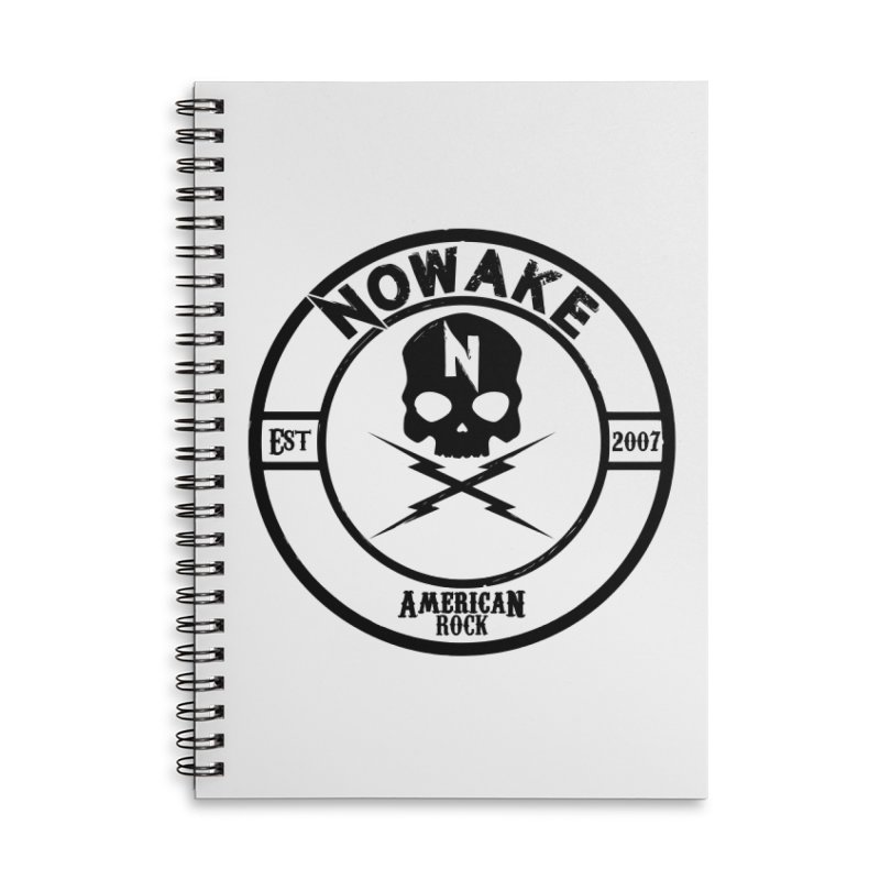 NOWAKE American Rock (in black) Accessories Notebook by NOWAKE's Artist Shop