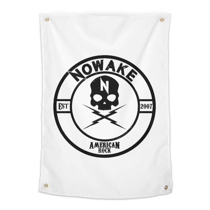 NOWAKE American Rock (in black) Home Tapestry by NOWAKE's Artist Shop