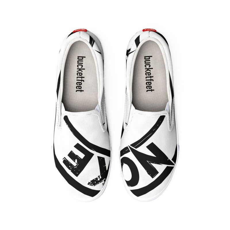NOWAKE American Rock (in black) Women's Shoes by NOWAKE's Artist Shop