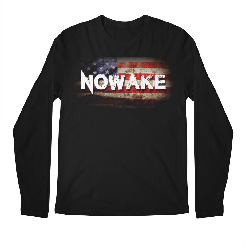 NOWAKE Classic American Flag Men's Regular Longsleeve T-Shirt by NOWAKE's Artist Shop