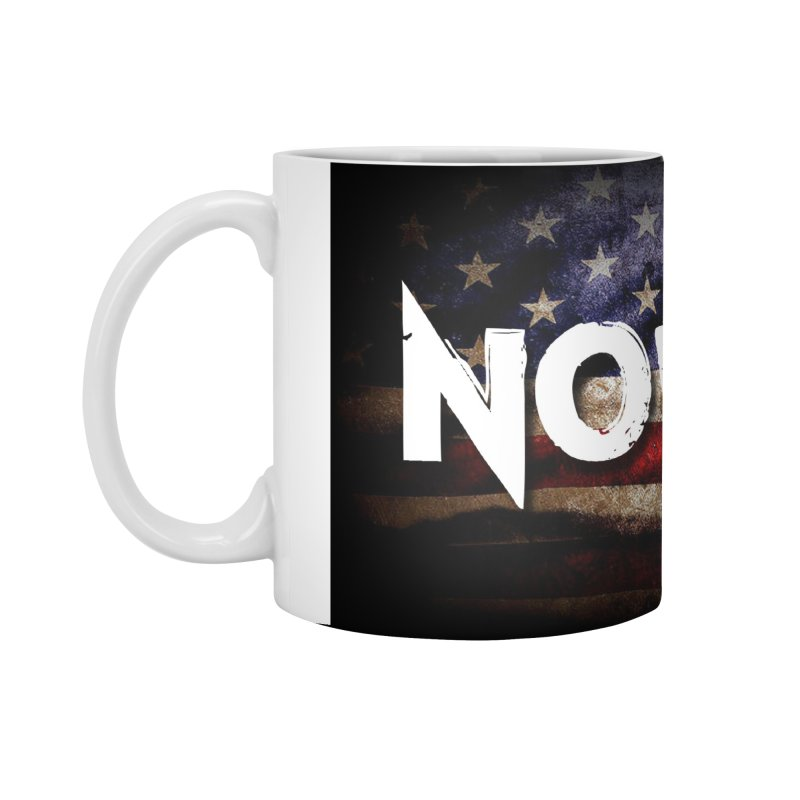 NOWAKE Classic American Flag Accessories Standard Mug by NOWAKE's Artist Shop