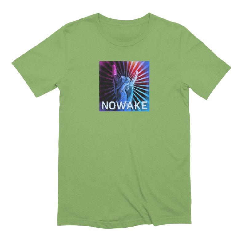Horns Up 2019 Men's Extra Soft T-Shirt by NOWAKE's Artist Shop