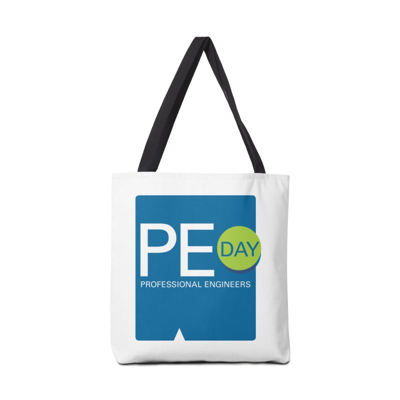 PE Day Official (No Date) Accessories Tote Bag Bag by National Society of Professional Engineers