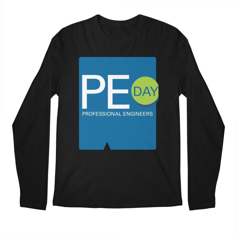 PE Day Official (No Date) Men's Regular Longsleeve T-Shirt by National Society of Professional Engineers