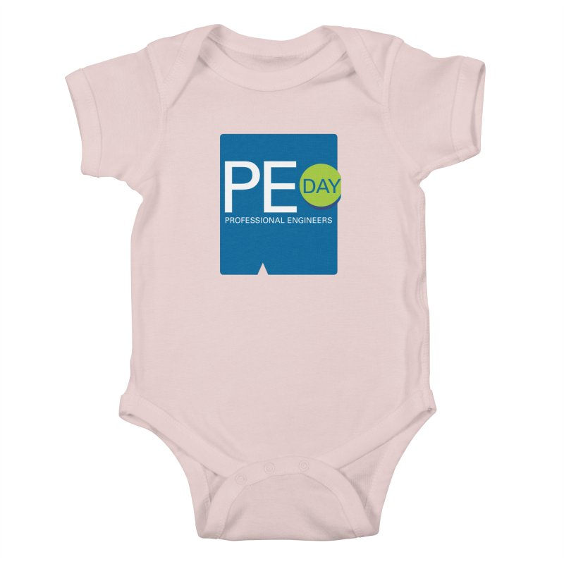 PE Day Official (No Date) Kids Baby Bodysuit by National Society of Professional Engineers