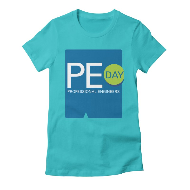 PE Day Official (No Date) Women's Fitted T-Shirt by National Society of Professional Engineers