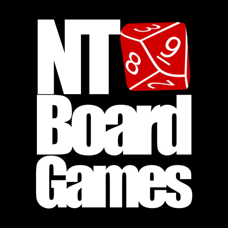 Logo with White Letters by NTBoardGames Store