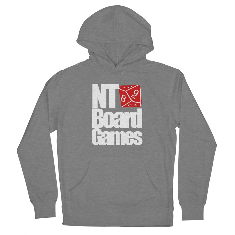 Logo with White Letters Women's Pullover Hoody by NTBoardGames Store