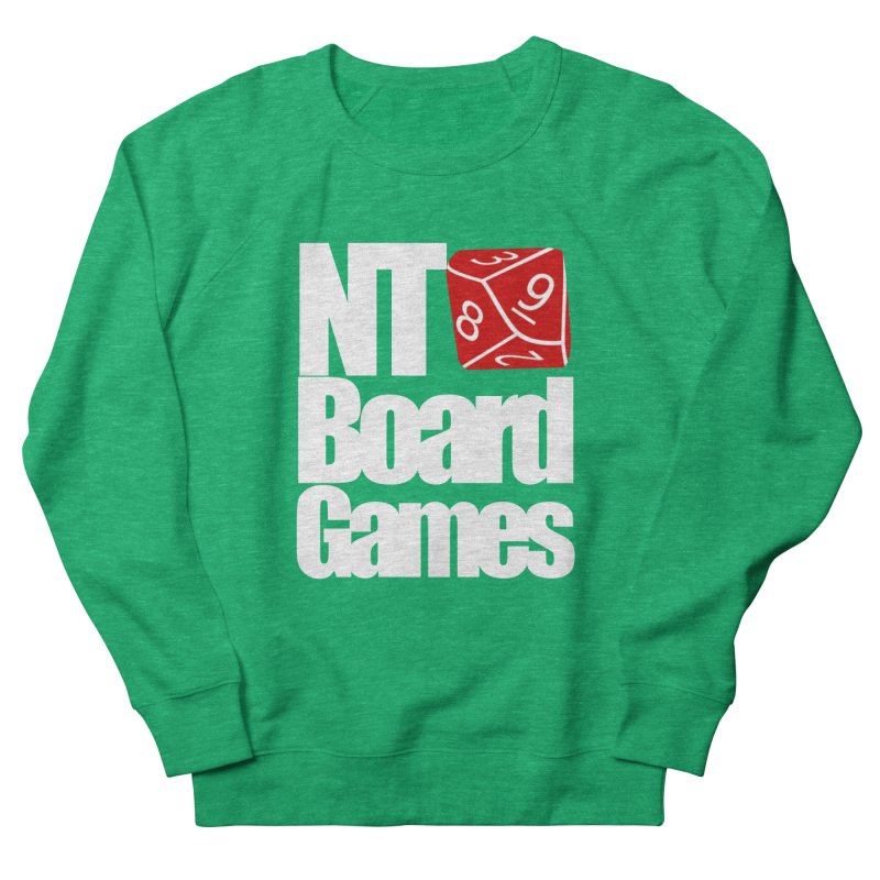 Logo with White Letters Women's Sweatshirt by NTBoardGames Store