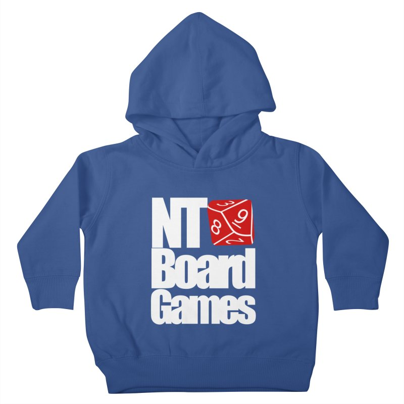 Logo with White Letters Kids Toddler Pullover Hoody by NTBoardGames Store