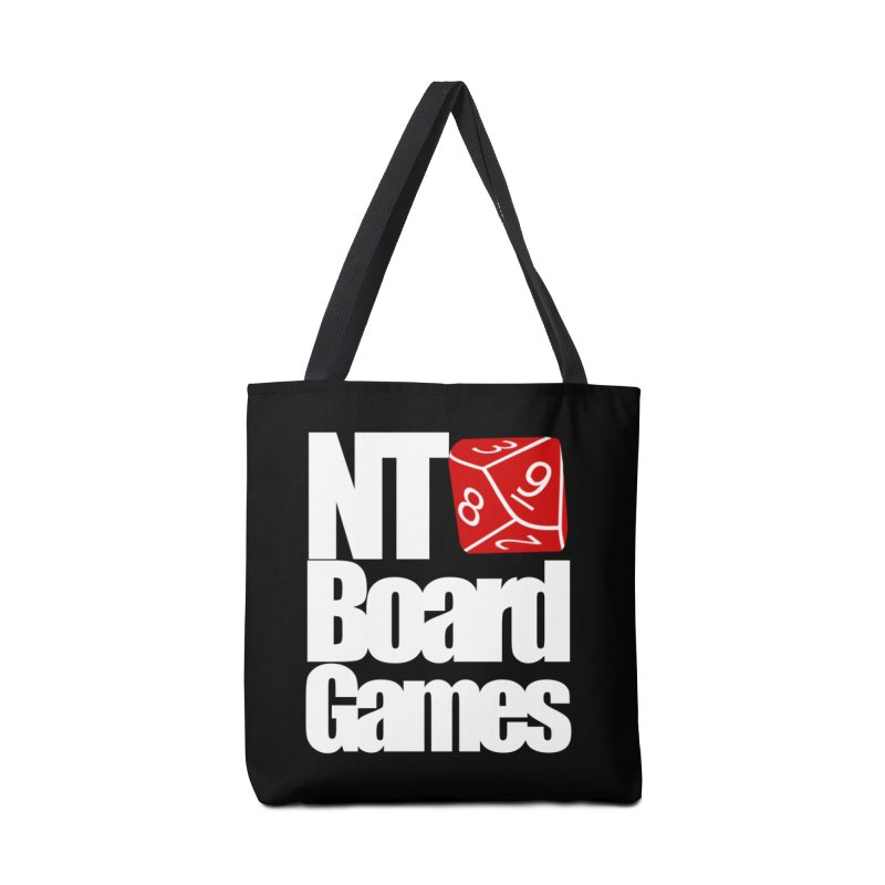 Logo with White Letters Accessories Tote Bag Bag by NTBoardGames Store