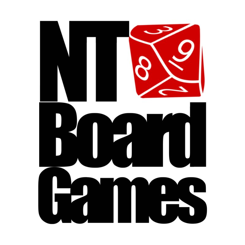 Logo with Black Letters by NTBoardGames Store