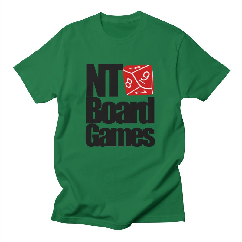 Logo with Black Letters Women's T-Shirt by NTBoardGames Store
