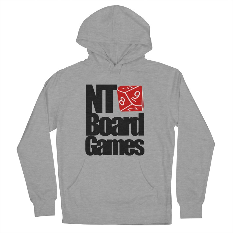 Logo with Black Letters Women's French Terry Pullover Hoody by NTBoardGames Store