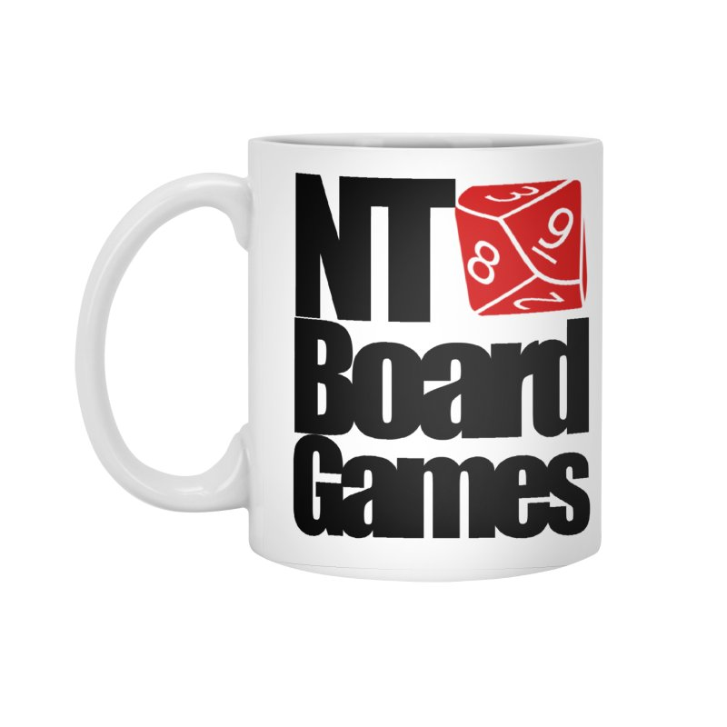 Logo with Black Letters Accessories Standard Mug by NTBoardGames Store