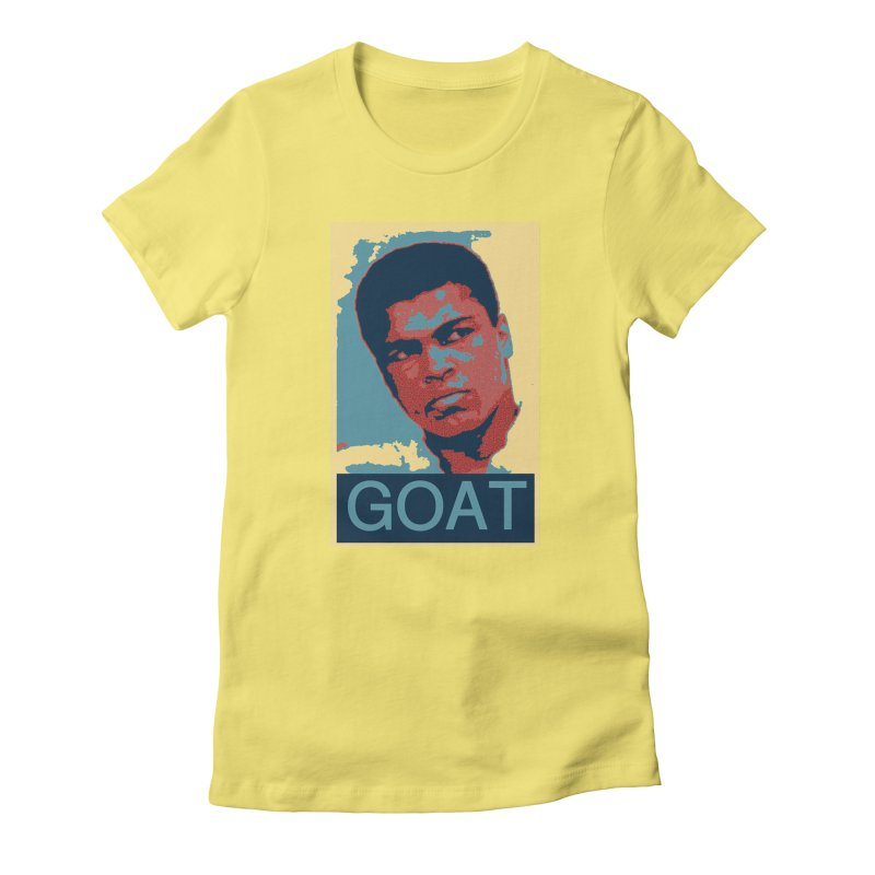 G.O.A.T. Women's T-Shirt by NY Fights