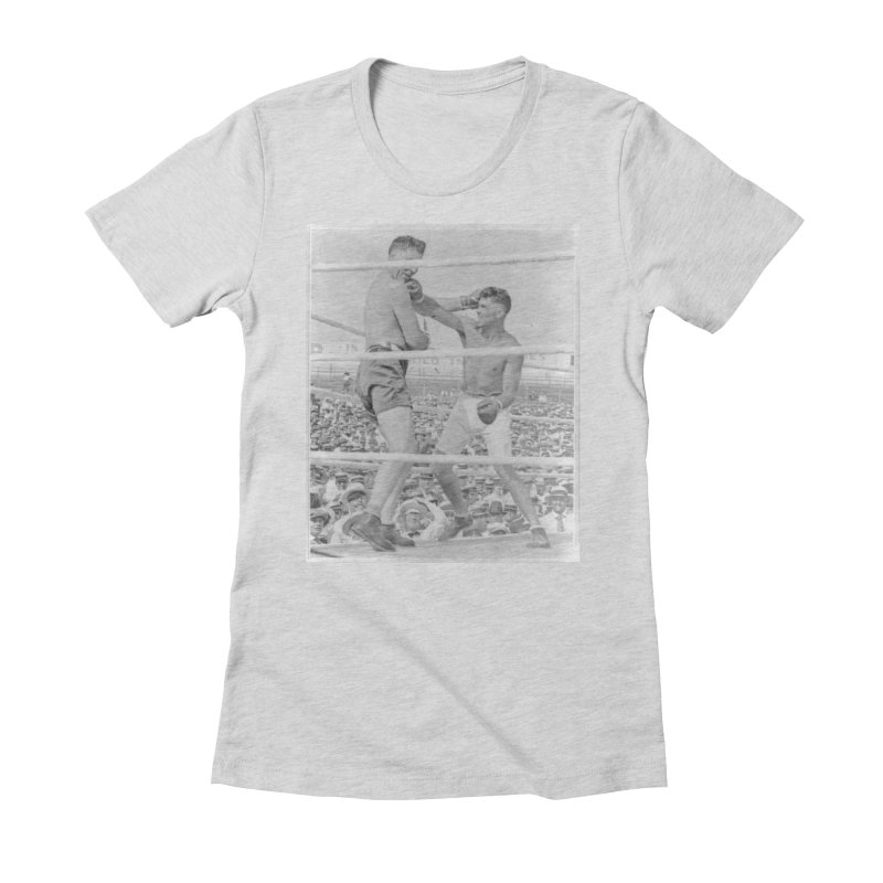 1919 Women's Fitted T-Shirt by NY Fights