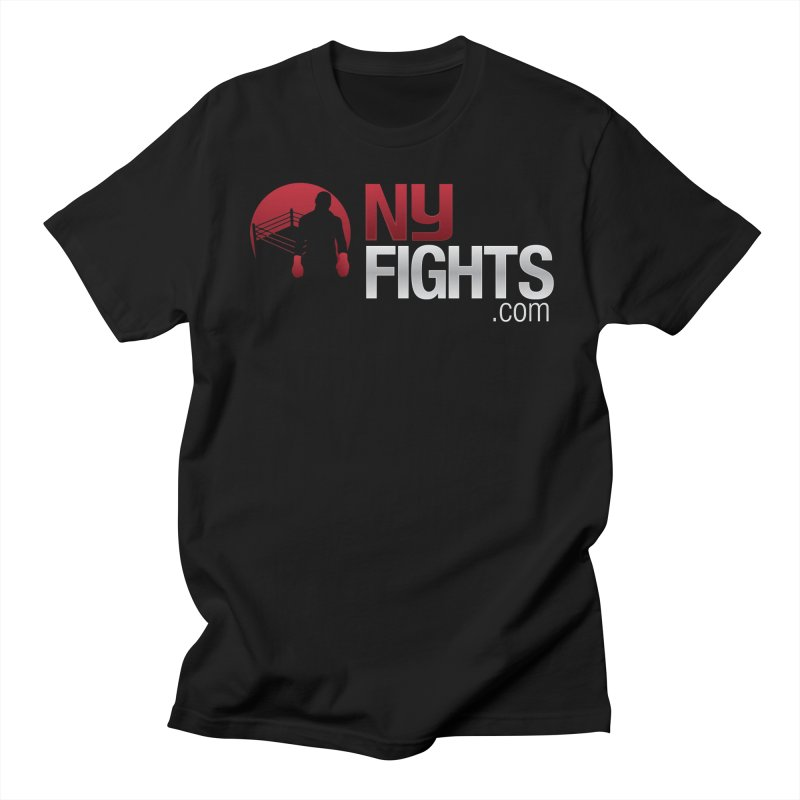 NY FIGHTS PRISTINE Men's Regular T-Shirt by NY Fights