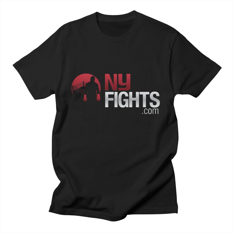 NY FIGHTS PRISTINE in Men's Regular T-Shirt Black by NY Fights