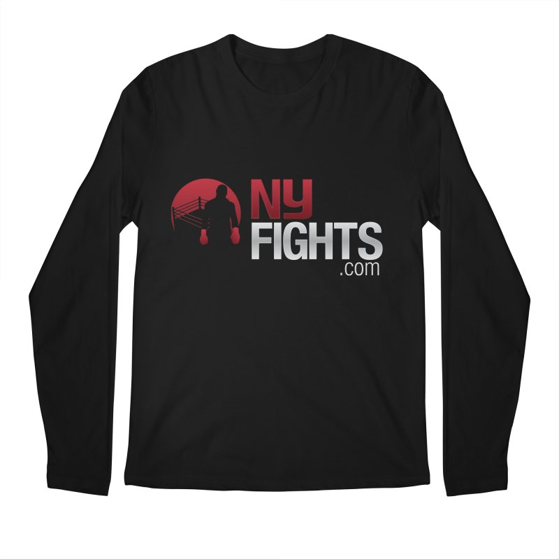NY FIGHTS PRISTINE Men's Longsleeve T-Shirt by NY Fights