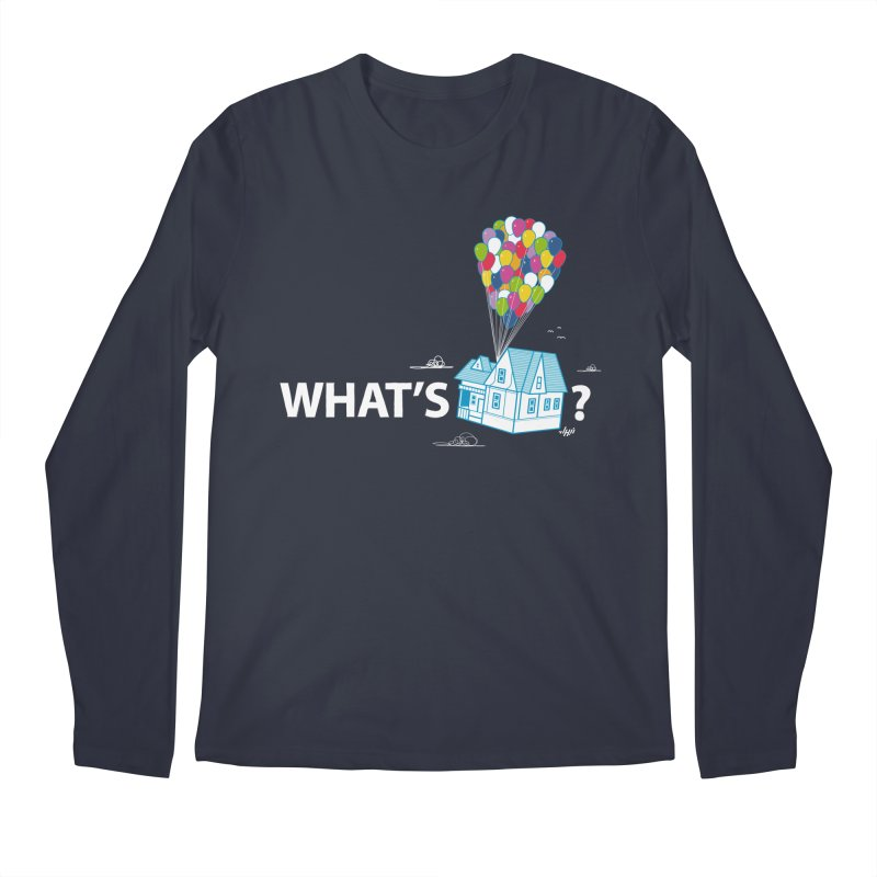 What's Up Men's Longsleeve T-Shirt by Nabhan's Artist Shop