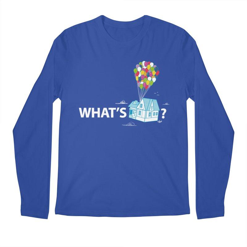 What's Up Men's Longsleeve T-Shirt by Nabhan's Artist Shop