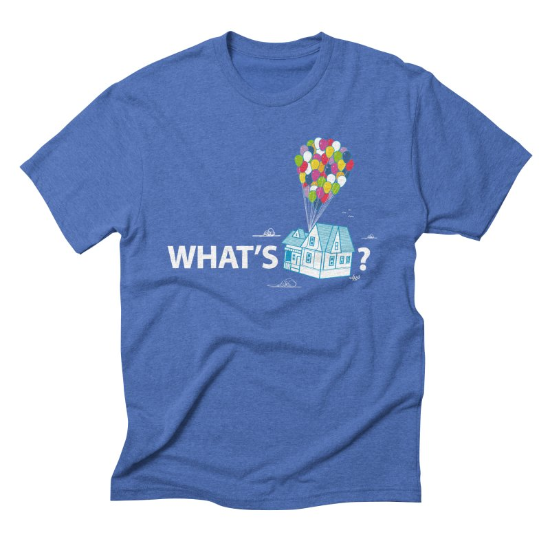 What's Up Men's Triblend T-Shirt by Nabhan's Artist Shop