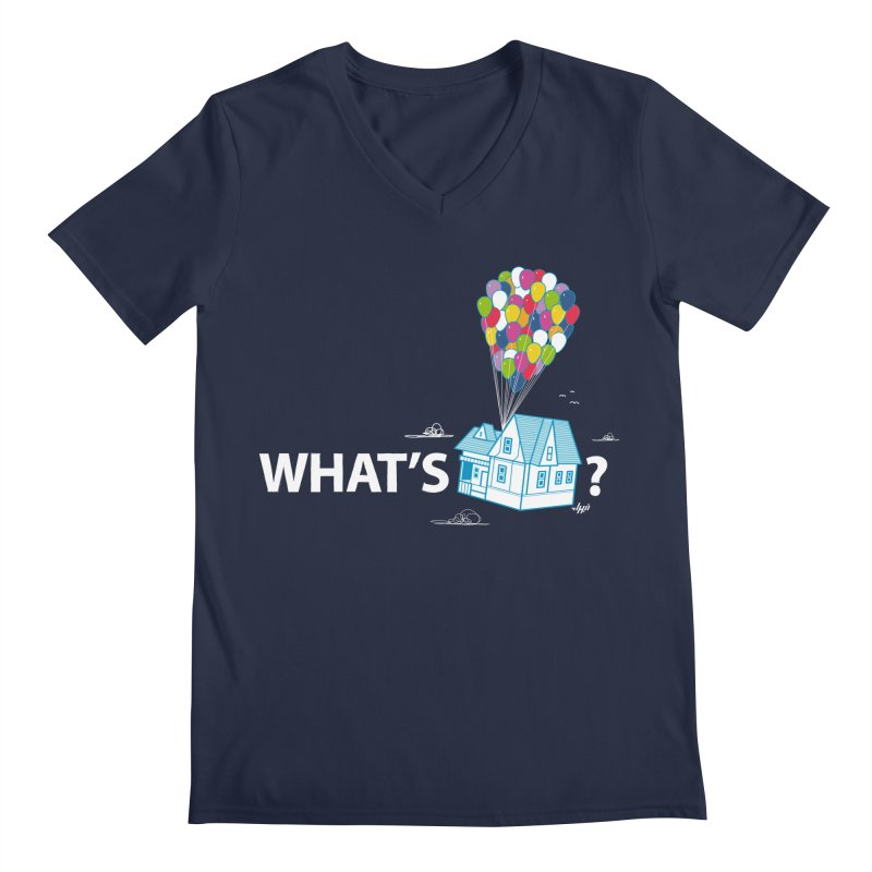 What's Up Men's V-Neck by Nabhan's Artist Shop