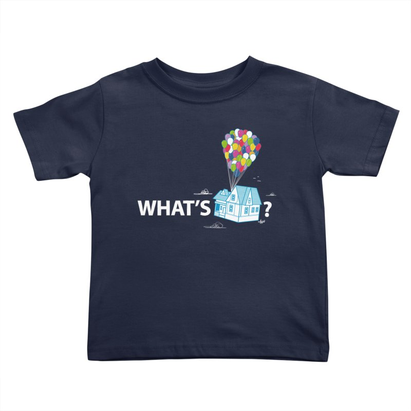 What's Up Kids Toddler T-Shirt by Nabhan's Artist Shop