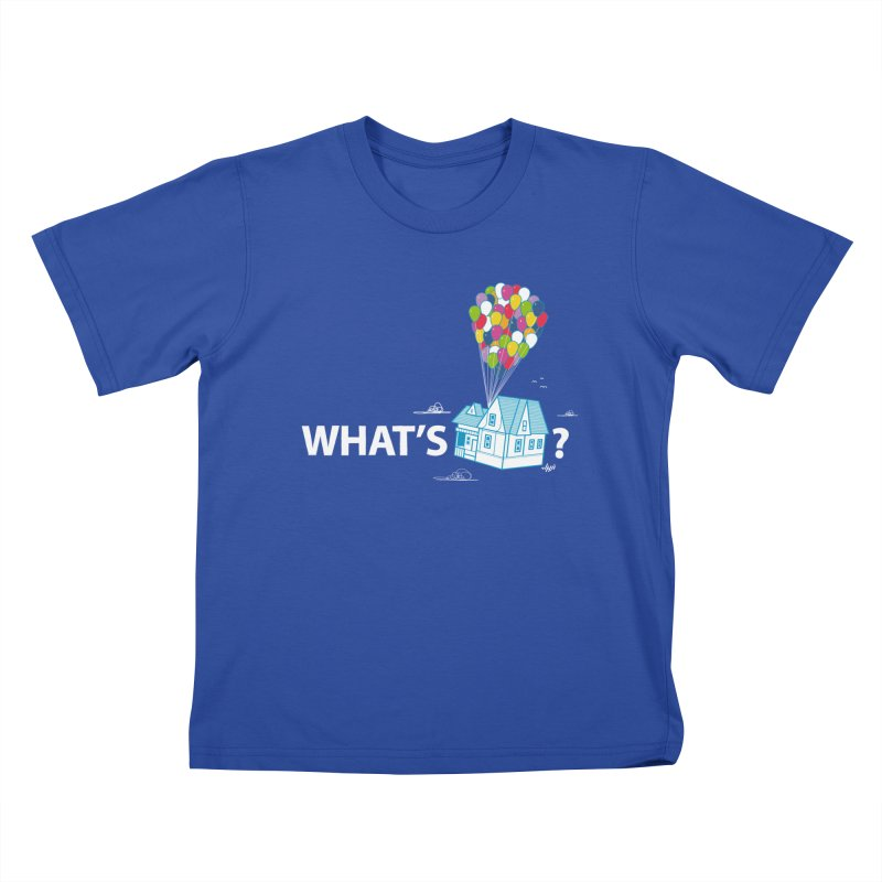 What's Up Kids T-shirt by Nabhan's Artist Shop
