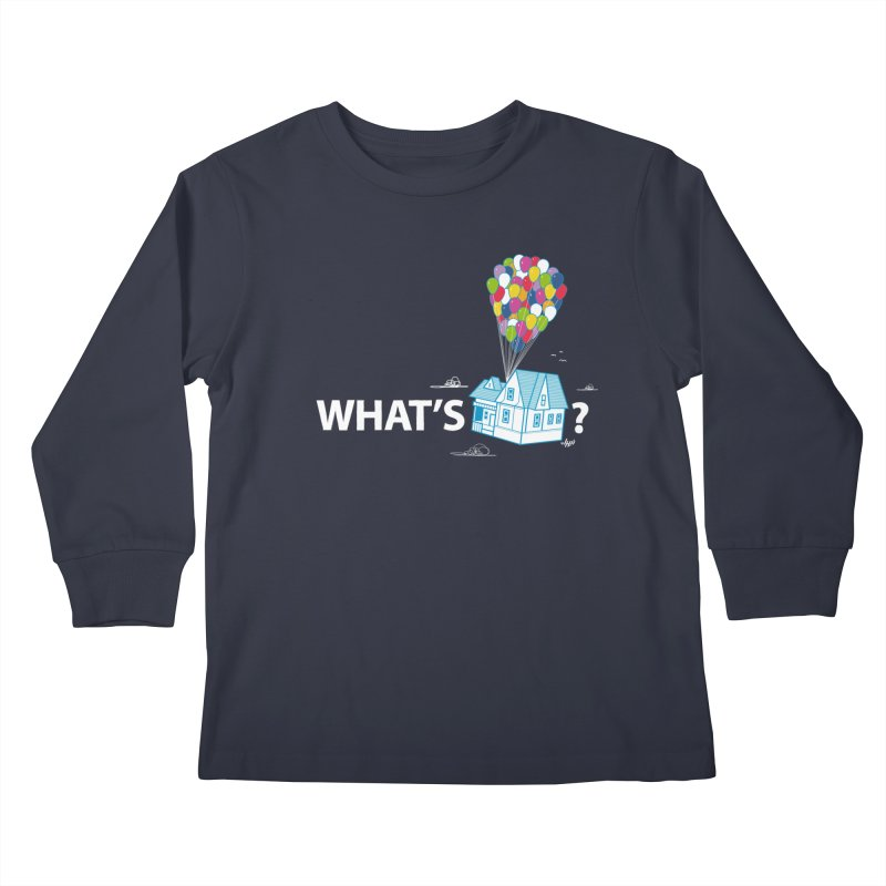 What's Up Kids Longsleeve T-Shirt by Nabhan's Artist Shop